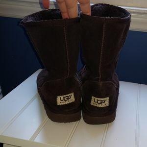 UGG dark brown womens 7 boots